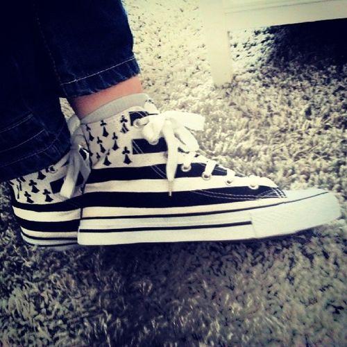 My shoes Converse Paria Breizhinstagramer Breizh bzh gwennhadu tropcoolmesconverses CestLePied29