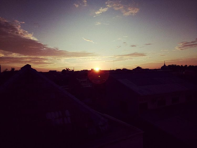 Sunset from the rooftop... -namiamora- Sunset Sky Beauty In Nature Space And Astronomy Built Structure No People Outdoors Dramatic Sky Architecture Building Exterior Sun Nature Astronomy Galaxy Rooftop Jakarta Forsell Sellphoto Sellphotos OPPO Oppof1s Oppocamera Oppothography Oppoindonesia