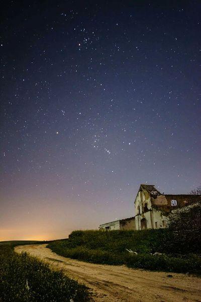 Night Sky No People Star Trail Nightphotography Cortijos Caseríos Andaluces Cortijo Morón De La Frontera Night Photography