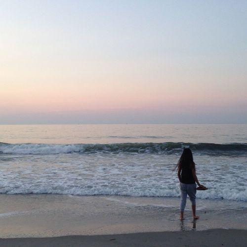 Capturing Freedom Beach Sunrise Morning Sister Ocean Sand Sky