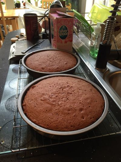 Out Of The Oven Baking Birthday Cake Cake Birthday Check This Out Lovecake StotfoldLife