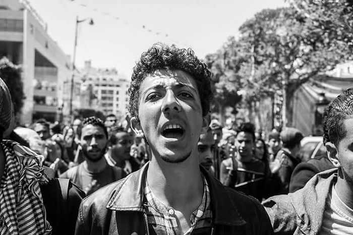 First Eyeem Photo Tunis Tunisie Tunisia Photojournalism Manifestation Student Riot Union Students Protest Protest Protesters Protesting News Newsworthy Streetphotography Header Cover Magazine Resist The Photojournalist - 2017 EyeEm Awards