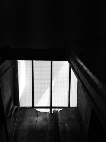 liberty... Prison Cell Liberty EyeEm Selects Architecture Indoors  Built Structure Window No People Day Building Sunlight Wall - Building Feature Glass - Material Dark Nature Transparent Geometric Shape Railing Staircase House Pattern Ceiling
