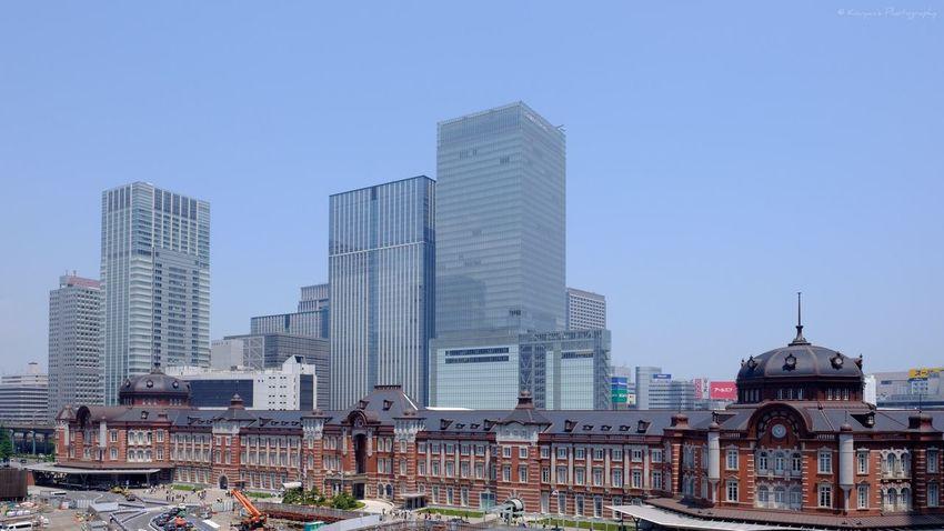 Tokyo Station TOWNSCAPE Fujifilm_xseries FUJIFILM X-T1 XF 16mm F1.4 R WR EyeEm EyeEm Best Shots Building Architecture Buildings