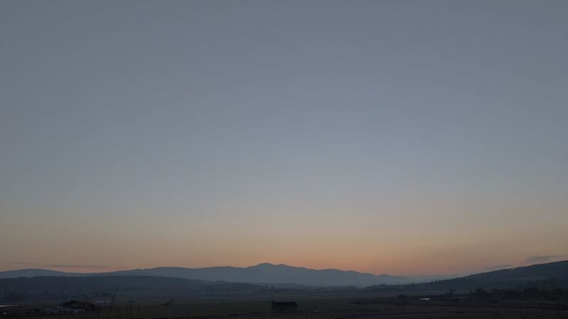 Mountain Range Sunset Sky Scenics Mountain Nature Outdoors Sport No People Illuminated Night Astronomy Scotland Small House