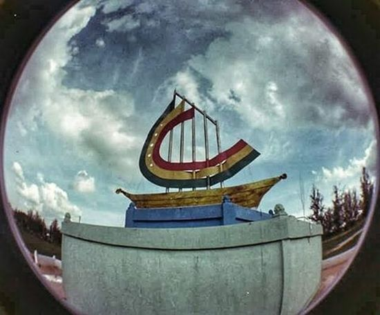 Perpustakaan Dumai in film Picture taken a while back with fisheye 2 camera TBT  Throwbackthursdays Filmography Analogue Analog Lomo Lomography Fisheye Fisheye2 Kamerafisheye Kamerafilm Seputardumai Igdumai Igersriau Exploredumai Throwback Exploreriau 35film 35mm 35 Lomogram Lomografia Lomoindonesia