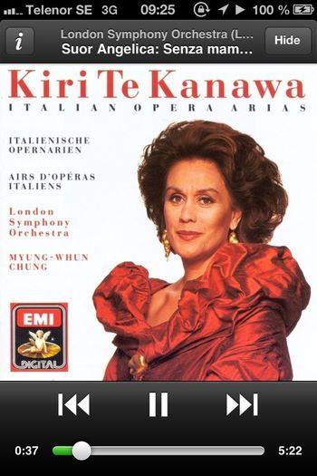 Opéra Inner Peace What Are You Listen To Kiri Te Kanawa