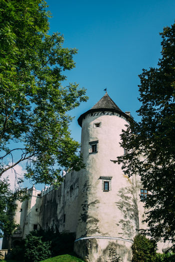Architecture Blue Built Structure Castle Medieval Niedzica Outdoors Poland Sky Summer Tower Tree