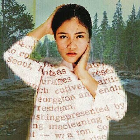 Art, Drawing, Creativity Self Portrait Double Exposure Myedition Artistic Selfie MYArtwork❤ Me Nature