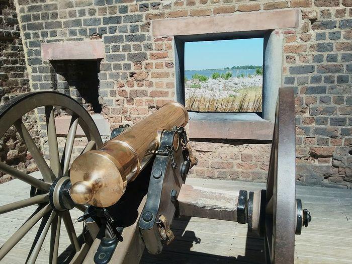 War Weapon Cannon Fort Window Defense Past Watching Waterfront History Historic Gun Sharons_snapshots