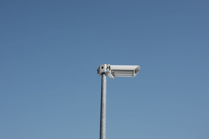 Video surveillance system Security Tecnology Concept Control Looking Pole Privacy Protection Safety Surveillance Surveillance Camera Symbol System Video