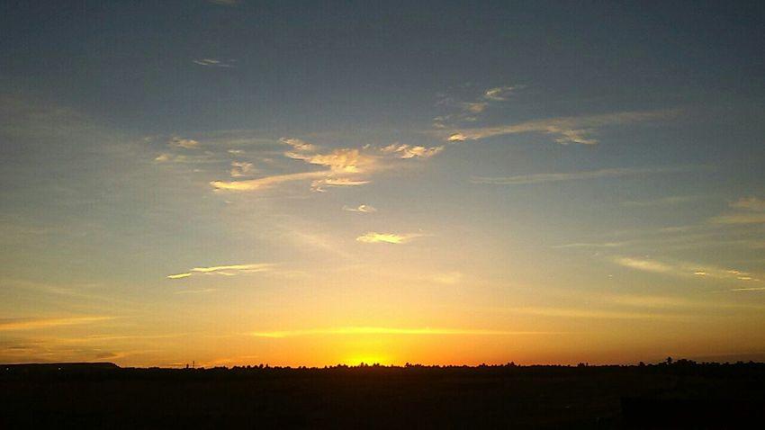 Have A Nice Day♥ Desert Beauty Desert Sunrise Skyline Sky Beautiful Adrar Algeria
