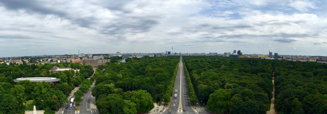 View from Siegessäule  Berlin Iphonephotography Enjoying The View EyeEm Stitch Iphoneonly IPhone IPhoneography Panoramic View EyeEm Best Shots EyeEmBestPics Panoramic Photography Panoramic Panorama Iphone6 Curves Horizon Seeing The Sights Top Perspective Topoftheworld On Top Of The World High Angle View Berlin Love
