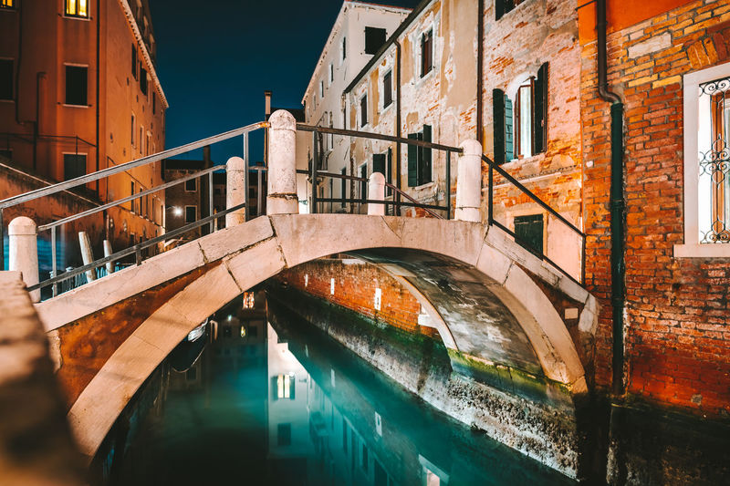 Bridge Europe Travel Destination February Venezia Venice Italy Nikon Z7 Bridge Bridge - Man Made Structure Night Built Structure Architecture Water Building Exterior Connection Canal Building Waterfront Transportation City Nature No People Residential District Reflection Window Railing Footbridge Outdoors Arch Bridge The Traveler - 2019 EyeEm Awards