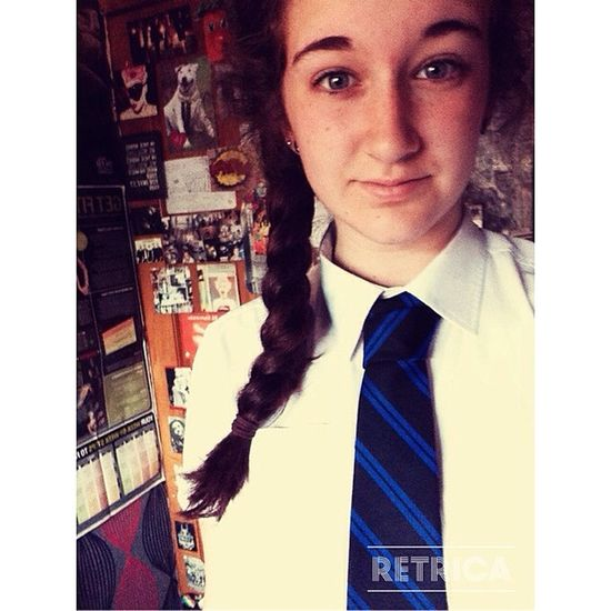 4 day week(y) School Tie Plat Fourdays