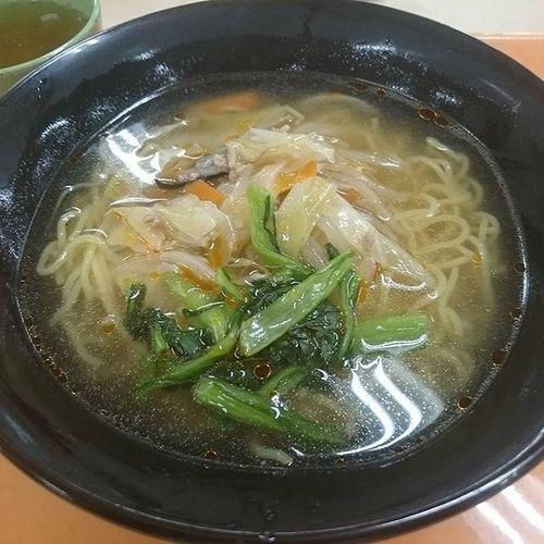 今日の社食~ タンメン(330円) J社食シリーズ 僕も麺を食おう! 美味そうに撮りたい 麺あげムリ