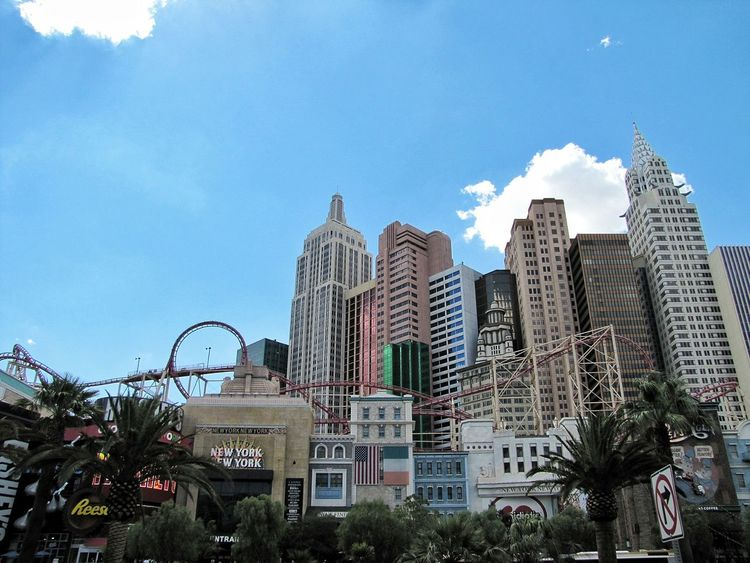 New York New York Casino Las Vegas Blvd Nevada Architecture_collection Building Exterior Colour Of Life Battle Of The Cities
