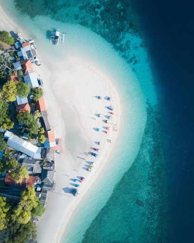 Beach camping in the Philippines High Angle View Water Drone  Aerial View Dronephotography Sea Beach Camping Philippines Philippines Photos