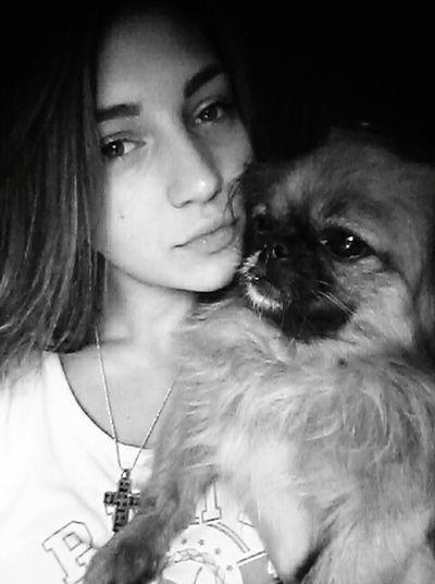 Amygold I Love My Dog Black & White