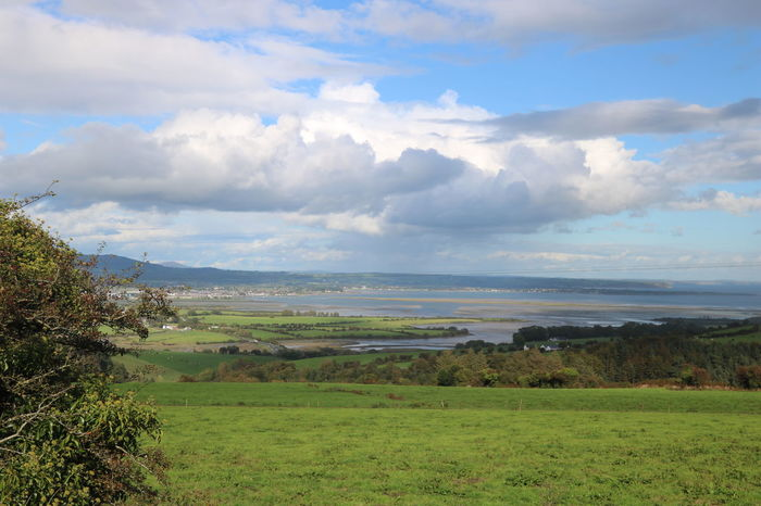 Ireland View Beauty In Nature Cloud - Sky Day Dungarvan Environment Field Grass Growth Landscape Nature No People Outdoors Scenery Scenics Sea Sky Tranquil Scene Tranquility