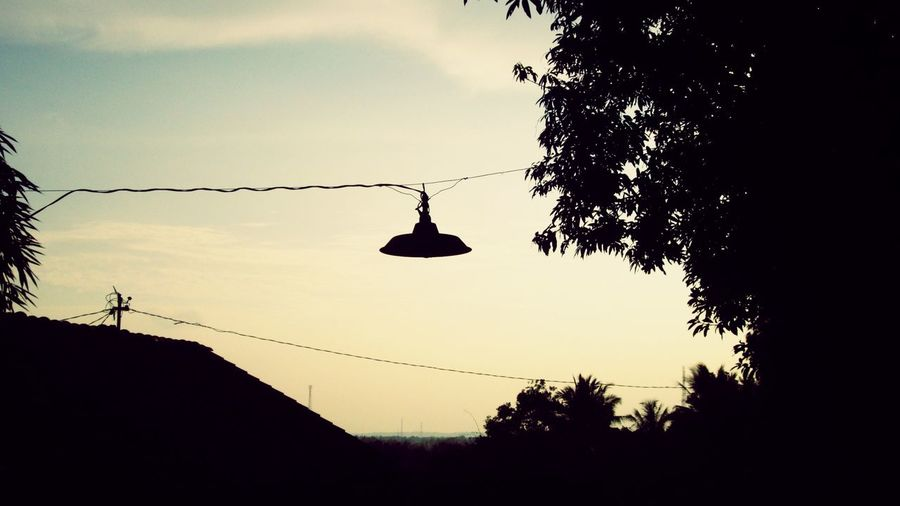 Landscape Street Lamp Village