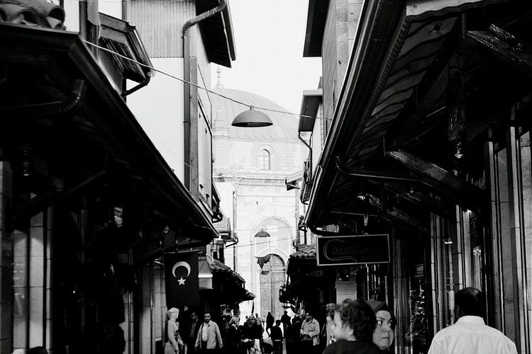 Nice Atmosphere Great Taking Photos Grand Bazaar Black And White Great Atmosphere Visiting Konya Historical Building