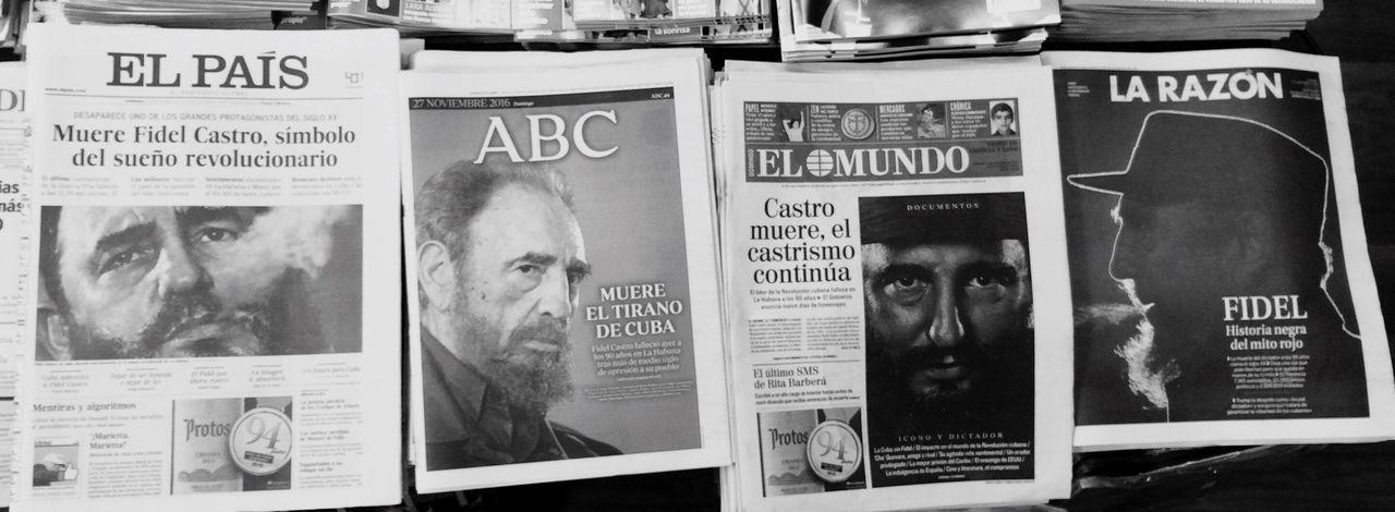 Enjoy The New Normal Fidel Fidel Castro FidelCastro HERO Héroe Éroe O Villano? History Newspaper Hightlight News Icon Politics Cuba Revolution My Year My View Finding New Frontiers Long Goodbye Resist EyeEm Diversity
