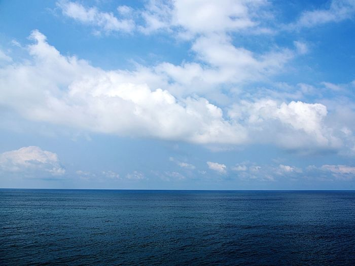 Nature_perfection Beauty Naturephotography Nature_collection Nature Photography Naturelovers Nikonphotography Nikonphotographer Nikon Nikon D750 Cloud - Sky Sky Scenics - Nature Water Tranquility Tranquil Scene Beauty In Nature Sea Blue Horizon Over Water Horizon Idyllic No People Nature Day Outdoors Seascape Turquoise Colored