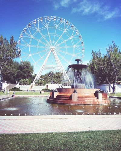 Amusement Park Ferris Wheel Arts Culture And Entertainment Sky No People Day Outdoors Carousel Amusement Park Ride Mix Yourself A Good Time Summertime Fotography Lifestyles EyeEmNewHere Relax Russia Street Street Photography Architecture Rostov-on-Don Collection The Week On EyeEm