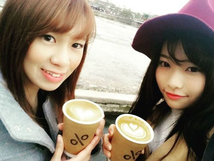 ひさびさにあかりんとでーと❤ 楽しかった! アカリ デート 嵐山 紅葉 Arabicacoffee アラビカコーヒー Arabica アラビカ ArabicaKyoto アラビカ京都
