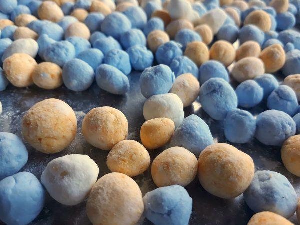 Thai Sweets Thailand Bua Loi Beauty Blue Close-up Sweet Food Closing Prepared Food Shore Gelatin Dessert Mousse Pebble