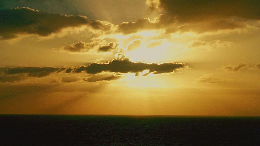 Sunset Serenity Beauty Peace