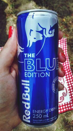 Yeaaaah RedBull Blueedition Energydrink