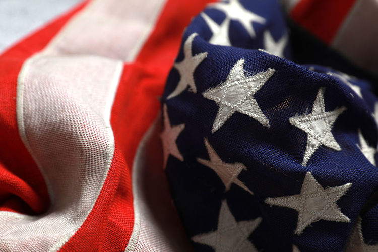 Close-up Pattern Textile No People Flag Patriotism White Color Still Life Full Frame Indoors  Striped Red Focus On Foreground Clothing Shape Star Shape Textured