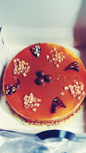 Food Cake Patisserie Greece Nameday Sweet Caramel Chocolate Life Winter