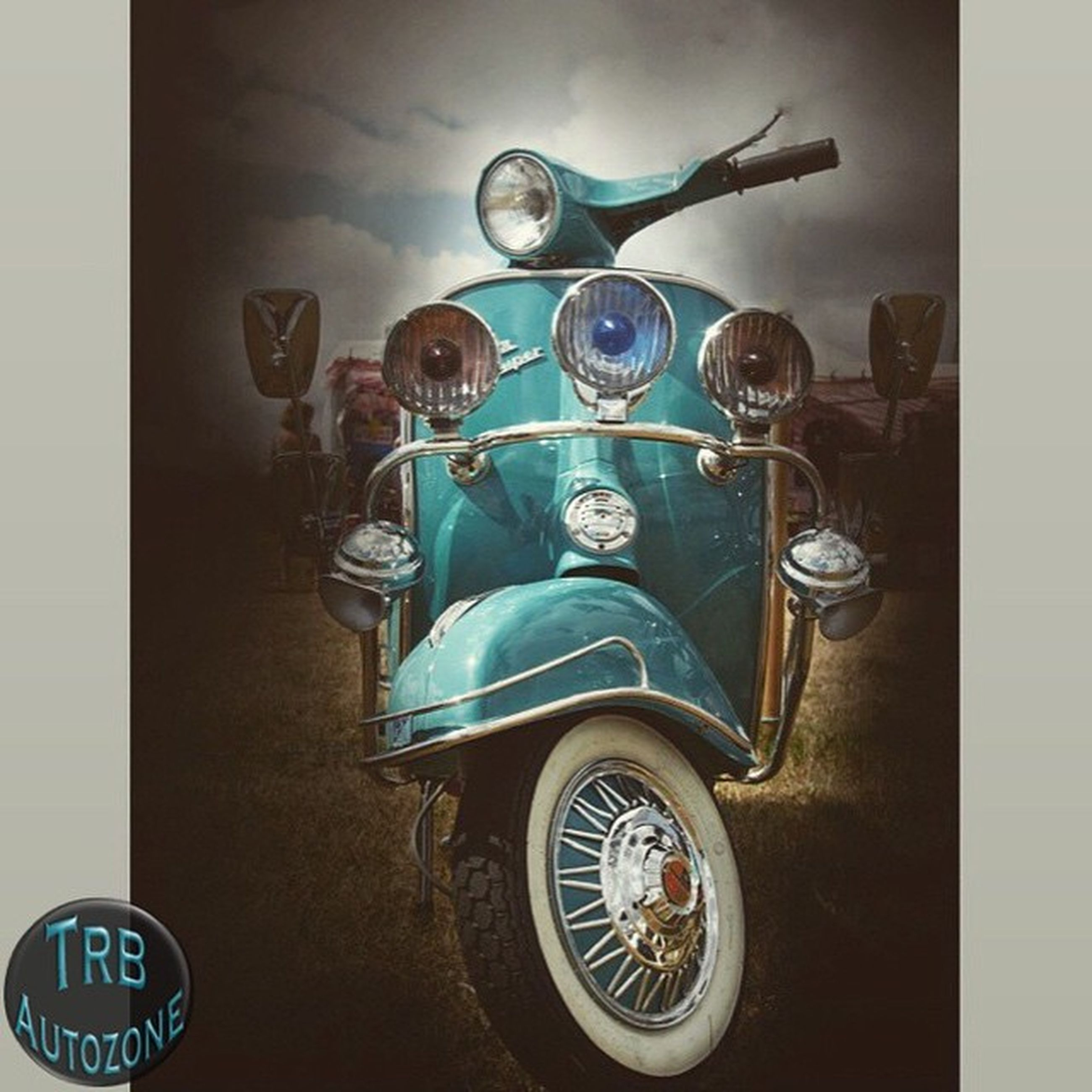 transfer print, transportation, mode of transport, indoors, auto post production filter, stationary, land vehicle, bicycle, no people, table, text, high angle view, day, still life, parking, circle, number, western script, clock, retro styled