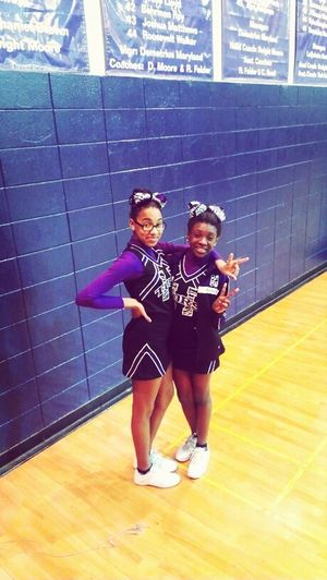 Me And Azaria At Game Tonight :)