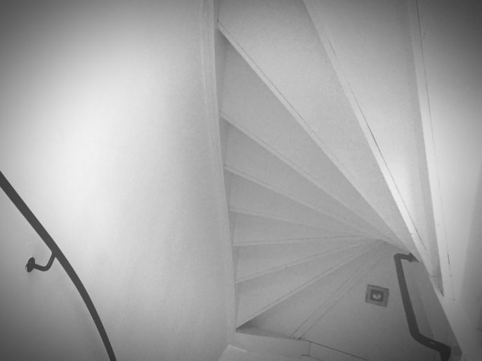 Stairs White Amsterdam House Architecture Eyem Stairways Studies Of Whiteness Spiral Staircase The World Needs More Spiral Staircases