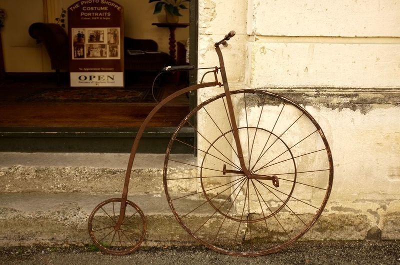 Beautiful Town Bicycle Day New Zealand No People Oamaru Travel Photography