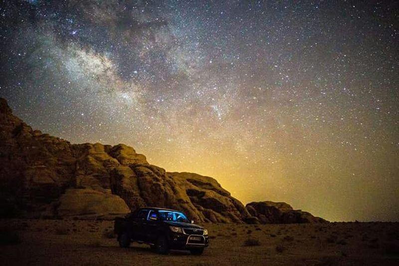 Holiday POV Milkyway Galaxy Wadirum Jordan Desert Billionsofstars Thaking Photos Astrophotography Astronomy From My Point Of View Enjoying Life Alone Sound Of Silence Showcase: January January2016