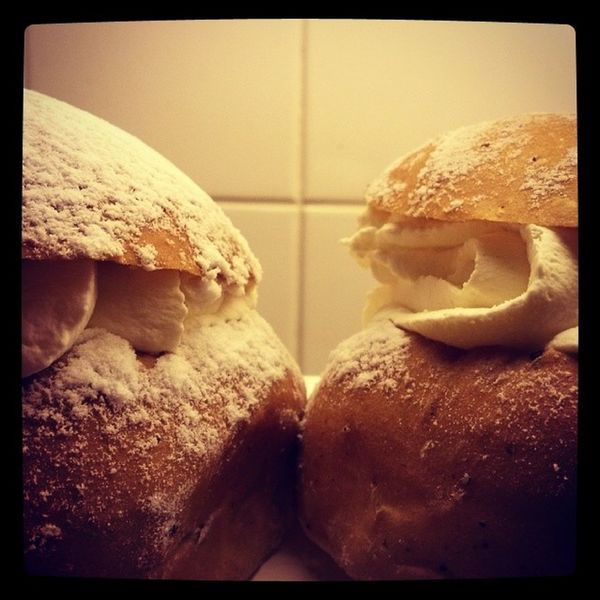 Semla Fettisdag Fattuesday Swedish semlor