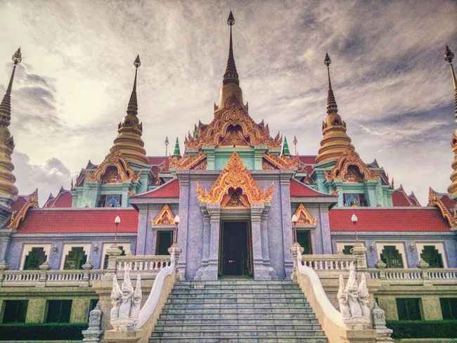 Taking Photos From My Lens Capture The Moment Landscape_Collection Thai Temple Viewpoint Hello World The Architect - 2017 EyeEm Awards