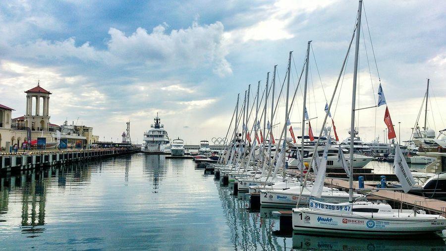 Travel Russia Sochi Sea Seaport