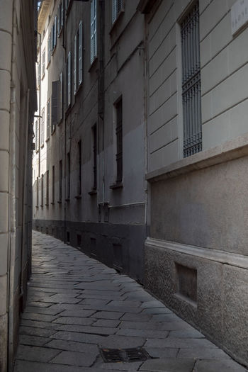 Via Bagnera, Milano Absence Alley Arcade Architecture Building Building Exterior Built Structure City Day Direction Empty Footpath Long Nature No People Old Outdoors Residential District The Way Forward Wall - Building Feature Window Summer In The City