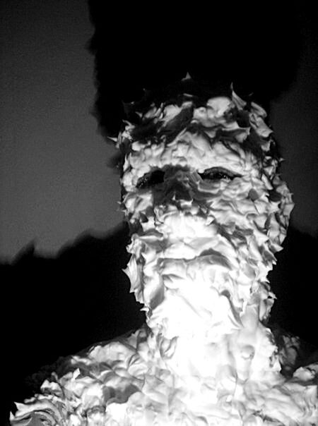 The New Self-Portrait Self-portrait That's Me Black And White Photography Schwarz & Weiß Face My Face Shaving Foam Foam Shades Of Grey