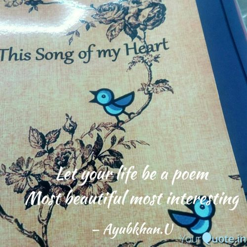 You are my Tiny Poem by Ayubkhan.U