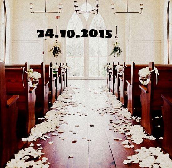 I can't wait 24.10.2015 my wedding day ♥ Wedding Waiting Happy
