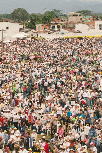 Colombia El Papa El Papa En Colombia PAPA FRANCESCO Papa Francisco Pope Villavicencio Villavicencio Meta Crowd Pope Francis