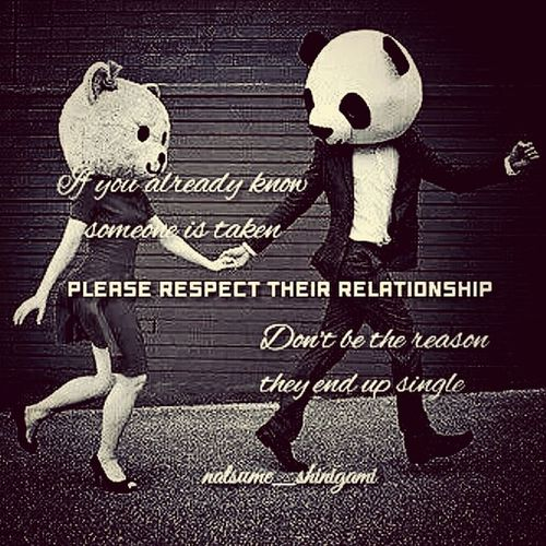 Respect Yourself  Relationship