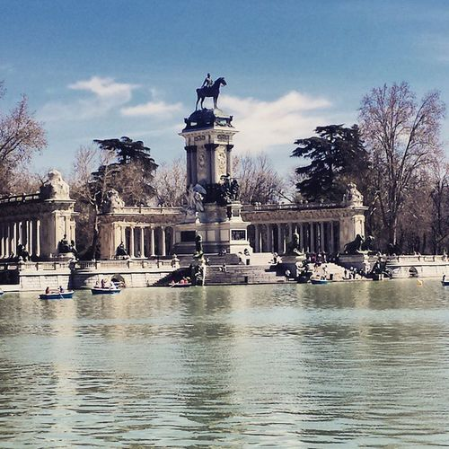 Retiroparque Madrid Beautiful Nofilter Retiro Park Relax Holiday View Moments Picture Photoofday Sunny España Es Today SPAIN Photo Goodtime